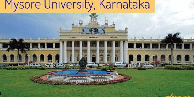 Mysore University Result 2019 (Announced)- BA, BCom, BBA, BCA, BSc