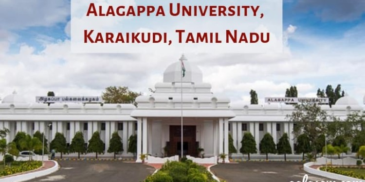 Alagappa University Results 2019 (Announced) – BA, B Sc, B Com, B Ed