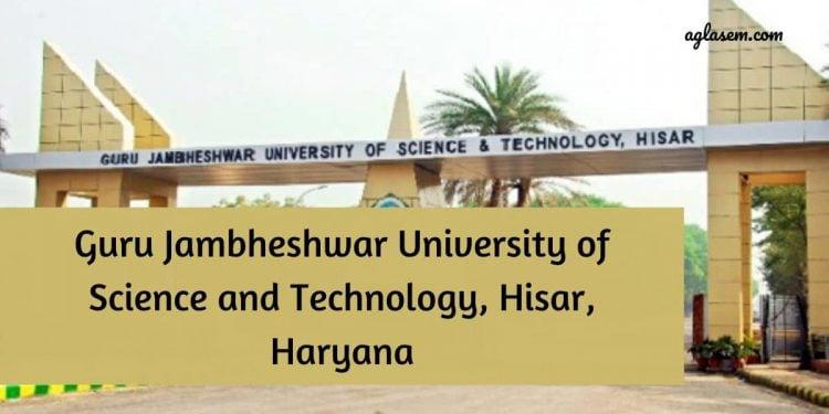 Guru Jambheshwar University