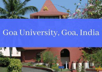Goa University, Goa, India