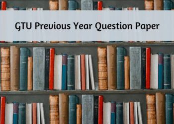 GTU Previous Year Question Paper