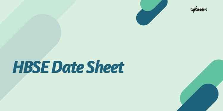 BSEH Date Sheet